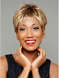Fashionable Women's Glueless  Curly Short Hair Wig for African American