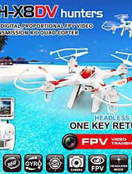 lh-x8dv 2,4 g de 4 canais 6 eixo gyrp rc zangão quadrocopter com Quadrotor câmera fpv rc fpv com o modo sem cabeça