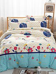 bom jogo de cama floral de 4pcs quatro temporadas uso