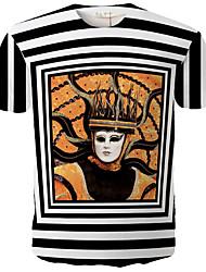 Magic Man  Men's fashion printed short-sleeved T-shirt
