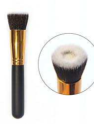 novo pincel de maquiagem cosméticos rosto pó líquido fundação ferramenta escovas côncavas