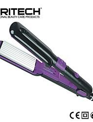 PRITECH Brand 2 IN 1 Perfect Hair Curler Aluminum Plate Wide Flat Iron Magic Roller Curler