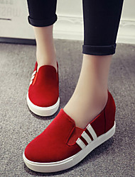 ANNIE Women's Shoes Black/Grey/Red Platform 0-3cm Fashion Sneakers