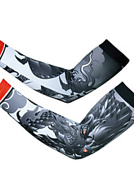 2015 Men Bike Team Cycling Armwarmers Lycra Breathable Bicycle Cuff Protection S-XXL