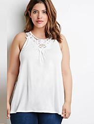 Women's Sexy Plus Size Vest Tank Top