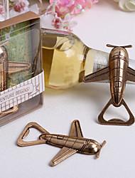 Garrafa Favor 1Peça/Conjunto Abridores de Garrafa Não-Personalizado Cromado Dourado