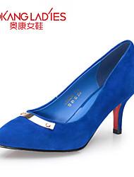 Zapatos de mujer Cuero/Ante Tacón Stiletto Tacones/Comfort/Puntiagudos/Punta Cerrada TaconesBoda/Exterior/Oficina y