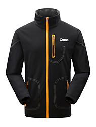 DEEKO Men's Outdoor Soft Shell Warm Windproof Fleece Jacket D405M
