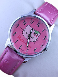 Kid's Hello Kitty Cute Cartoon Watch Cool Watches Unique Watches