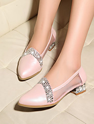 Women's Shoes Low heel Pointed Toe Casual With Sparkling Glitter More Colors Available