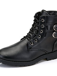 Men's Shoes Casual  Boots Black/Brown