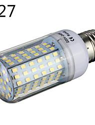 1 pcs E14 / E26/E27 / B22 20 W 126 SMD 2835 1850 LM Warm White / Cool White LED Corn Bulbs AC 220-240 V