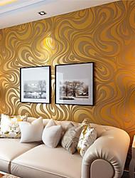 Цветочные Обои Для дома Современный Облицовка стен , Нетканая бумага материал Клей требуется обои , Обои для дома