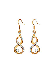 Hoop Earrings Women's Alloy Earring Imitation Pearl