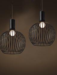 Vintage Lamps Nordic Creative Arts Restaurant Bar Bedroom Lights Fixture Personality Iron Chandelier