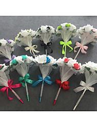 Hochzeitsblumen Rundförmig / Freigeformt Rosen Sträuße Hochzeit Polyester / Satin ca.25cm