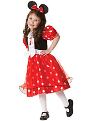 2015 Halloween Costume Girl Cartoon Minnie Dress Baby Christmas Dress With Bow Dot Children's Princess Minnie Dresses