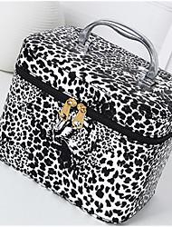 Women Casual PU Zipper Cosmetic Bag