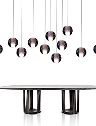 Pendant Light G4 Retroifit 3W  Chrome Plating Crystal Modern/Contemporary Pendant Lamp for Dining Room