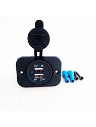 Юйцзе ввода дважды Зарядное устройство USB гнездо: 12V-24V Выход: 5V 3.1a