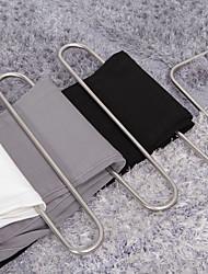 liren® s pantalones percha, multifuncionales 5 pantalones toallas bastidores de suspensión