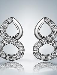 best-seller orecchino d'argento casuale placcato orecchini orecchini alla moda per le donne