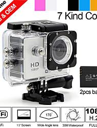 """besteye®1.5 """"sport DV 5.0MP HD 1080P wifi della macchina fotografica di azione con 170 ° ampio angolo di 30m hdmi macchina fotografica"""