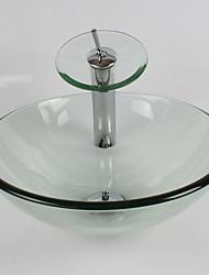 Set per lavandino bagno - Contemporaneo - Vetrotemperato ( Vetrotemperato )