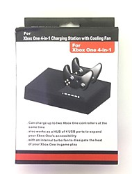 4-in-1 Charging Station with Cooling Fan for XBOX ONE