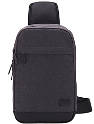Adult Style Men Messenger Bag Chest Bag Sports Casual Waist Bag Functional Korean Mobile Phone Belt Bag Gray T602