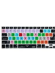 XSKN Logic Pro x 10 atalho tampa do teclado sobreposição de silicone para macbook pro retina Air 13 '' 15 '' 17 ''
