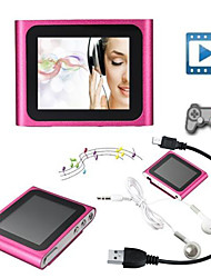 4GB Mp3 Mp4 6th Gen LCD Touch Screen FM Radio Player Slim Video Games Movie
