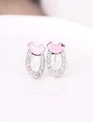 Mercurial superfly silver earings 925 women Cute/Party/Work/Casual Sterling Silver Stud Earrings channel earrings