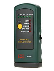 ms6811 сетевое устройство тестер кабельный тестер детектор осмотра линии MASTECH