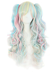 High-Quality High-Temperature Wire Length Wig Fashion Girl Necessary