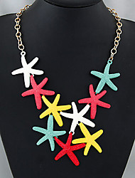 MPL Fashion trends in Europe and America all-match Starfish Necklace