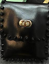 Women PU Sling Bag Shoulder Bag - Gold/Silver/Black