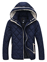 KND Men'sHooded thick coat jacket