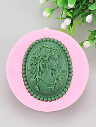 Beautiful Picture Fondant Cake Cake Chocolate Silicone Molds,Decoration Tools Bakeware