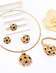 WesternRain Gold Plated African Jewelry Sets Original Classic Fashion Jewelry For Women bijouterie Alloy jewelry