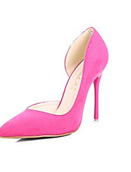 Women's Shoes Suede Stiletto Heels /Party & Evening /New Fashion Big Yards Autumn Goosegrass Pointed  Heels Wedding