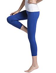 Yogame® Yoga Pants/3/4 Tights/Yoga CropsWicking/Compression/Lightweight/Shaper Wear Stretchy Sports Wear Yoga/Pilates/FitnessLady