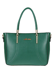 Women PU Weekend Bag Tote - Green