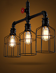 American Country, Wrought Iron Chandelier Retro Personality Sitting Room Lamps Chandelier  Bar Lamp Act The Role Ofing