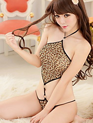 Three Sexy Leopard Lingerie