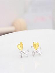 My orders korean tv drama charms 925 sterling silver rose gold crystal earrings,mercurial superfly earrings brand