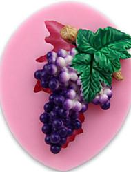 grape Fondant Cake Chocolate Silicone Molds,Decoration Tools Bakeware