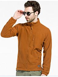 Outdoor Sports Polar Fleece Warm Breathable Wear Resistant Stand Collar Tactical Jacket