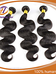"3 Pcs/Lot 8""-24"" Peruvian Virgin Hair Natural Black Color Body Wave  Unprocessed Human Hair Extensions Low Price Sale"