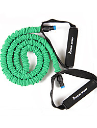 Green Fitness Word Pull On The Rope